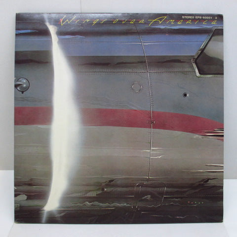 PAUL McCARTNEY & WINGS - Wings Over America (U.S.A.ライヴ!!) (JAPAN/しきり有り、帯欠)