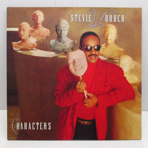 STEVIE WONDER - Characters (WEST GERMAN:Orig.)