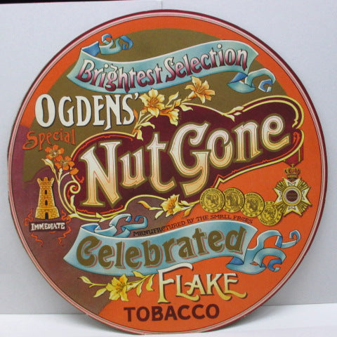 SMALL FACES - Ogden's Nut Gone Flake (UK 2nd Press Light Pink Lbl.Stereo LP/Circular GS)