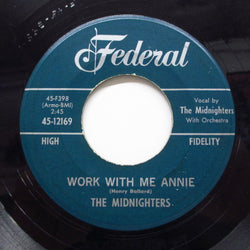MIDNIGHTERS (HANK BALLARD & THE) - Work With Me Annie / Until I Die