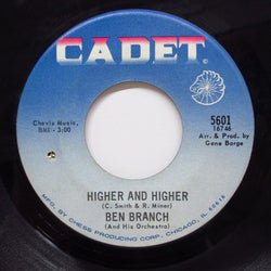 BEN BRANCH - Higher And Higher / I Don't Know