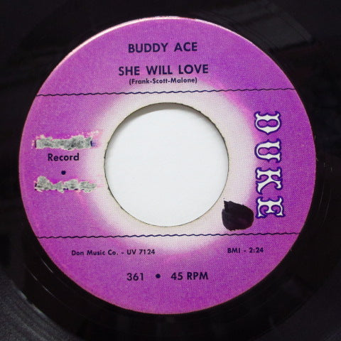 BUDDY ACE - Good Lover / She Will Love