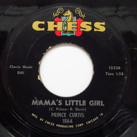 PRINCE CURTIS - Pretty Pat / Mama's Little Girl