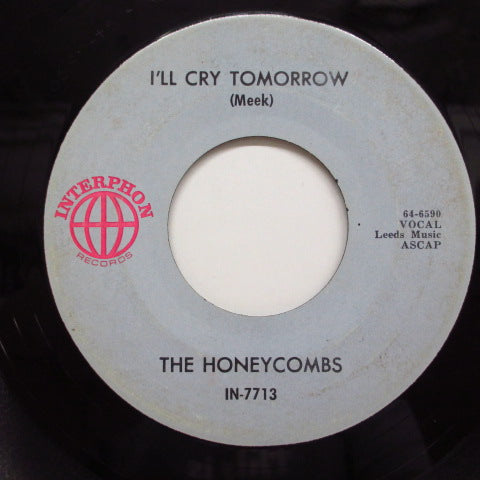 HONEYCOMBS - I Can't Stop / I'll Cry Tomorrow (US:Orig.)