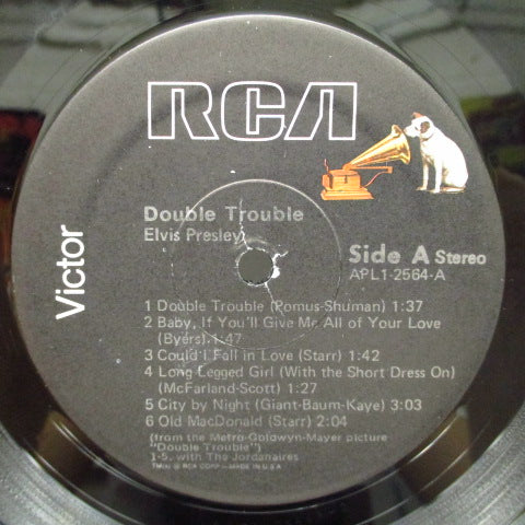 ELVIS PRESLEY - Double Trouble (US'76年Re)