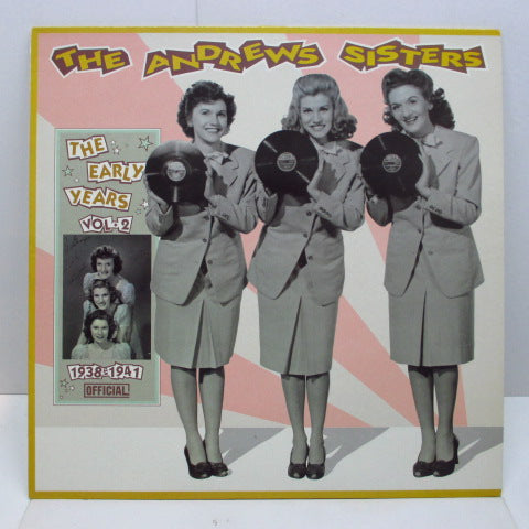ANDREWS SISTERS - The Early Years Vol.2 1938-1941 (DENMARK Orig)
