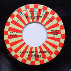 "ESSEX - Easier Said Than Done (70's Re 7"")"