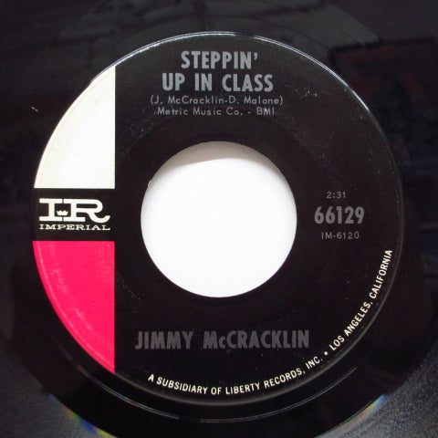 JIMMY McCRACKLIN - Steppin' Up In Class / Think (Orig)