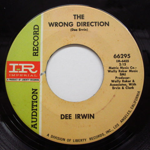 DEE IRWIN (BIG DEE IRWIN) - I Only Get This Feeling (Promo)