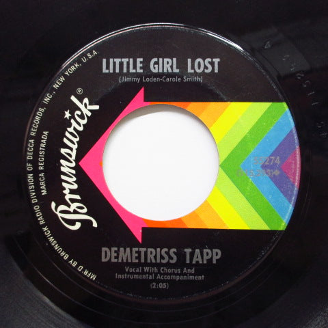 DEMETRISS TAPP - Ring Dang Doo / Little Girl Lost