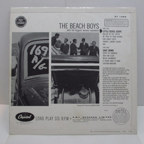 BEACH BOYS - Little Deuce Coupe (UK:Orig.STEREO/CFS)