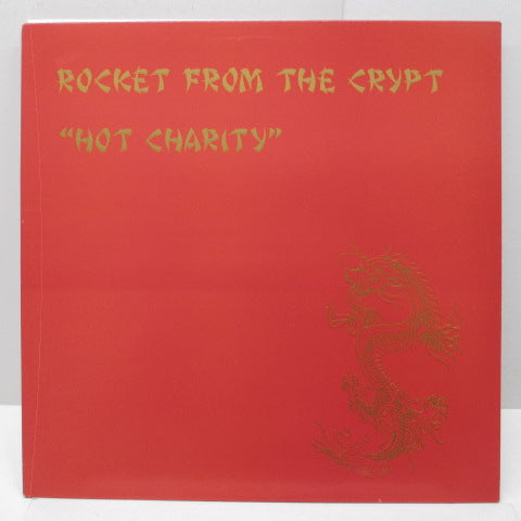 ROCKET FROM THE CRYPT - Hot Charity (UK Orig.LP)
