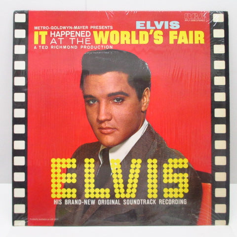 ELVIS PRESLEY - It Happened At The World's Fair (US'77年Re)