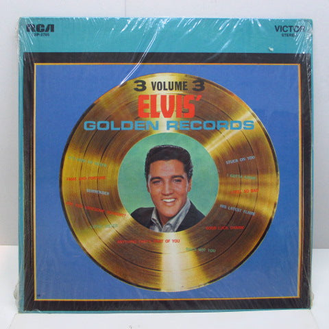 ELVIS PRESLEY - Elvis' Golden Records Vol.3 (US '76 Reissue Stereo LP)
