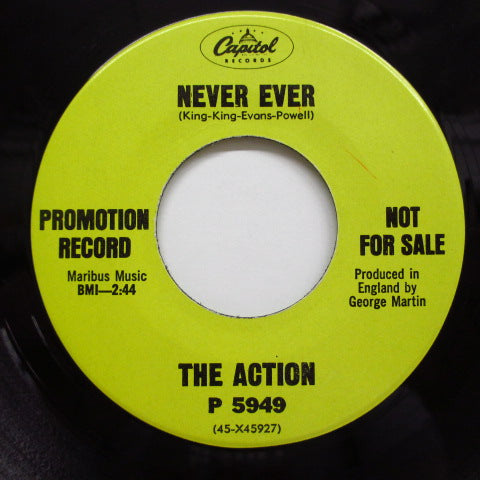ACTION - Never Ever (US:PROMO+CS!)