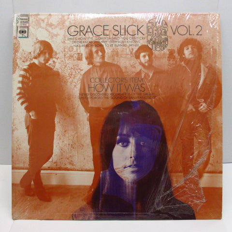GREAT SOCIETY (GRACE SLICK) - How It Was / Collector's Item Vol.2 (US:Orig.)