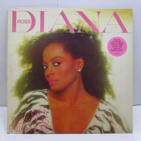 DIANA ROSS - Why Do Fools Fall In Love (UK Orig.LP/GS)