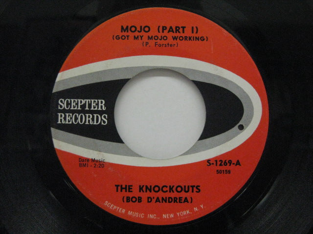 KNOCKOUTS (BOB D'ANDREA) - Mo Jo (Part 1) / Every Day Of The Week