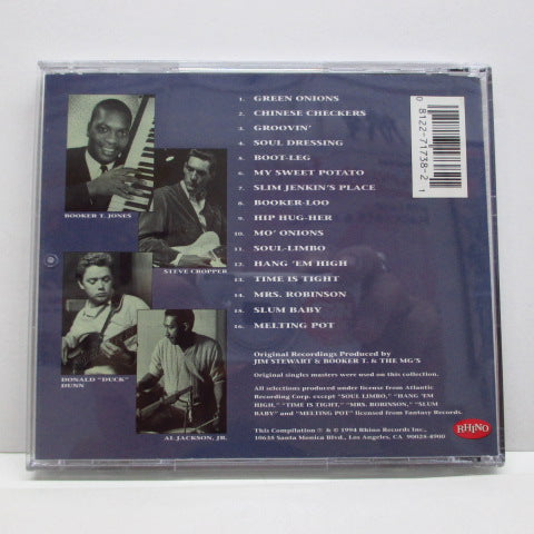 BOOKER T. & THE MG'S - The Very Best Of (US CD)
