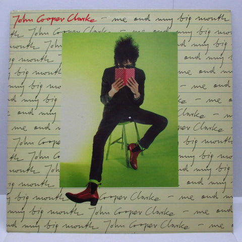 JOHN COOPER CLARKE - Me And My Big Mouth (UK Orig.LP)