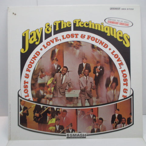 JAY & THE TECHNIQUES - Love & Found Love (US Orig.Stereo LP)