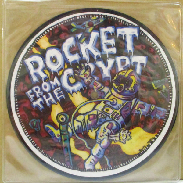 "ROCKET FROM THE CRYPT (ロケット・フロム・ザ・クリプト)  - Boychucker (US Ltd.White Background Picture 7"")"