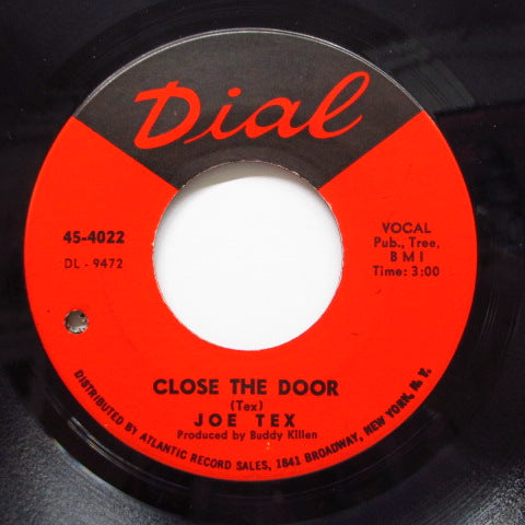 JOE TEX - Close The Door