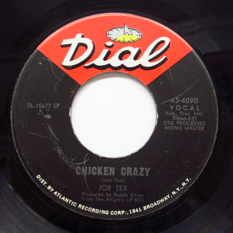 JOE TEX - Chicken Crazy / Buying A Book