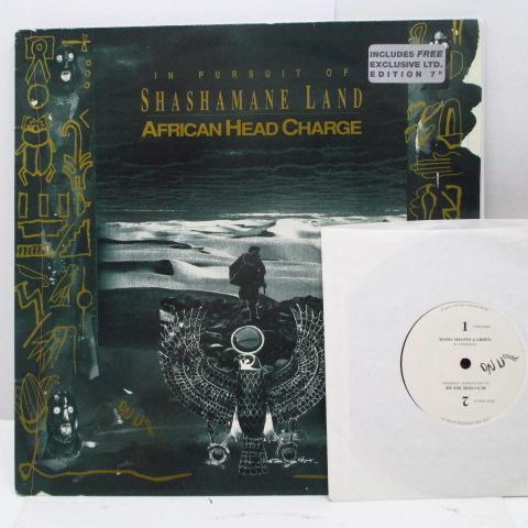 AFRICAN HEAD CHARGE - In Pursuit Of Shashamane Land (UK Orig.LP+45)