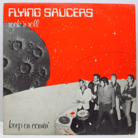 FLYING SAUCERS - Keep On Comin' (UK Orig.LP)