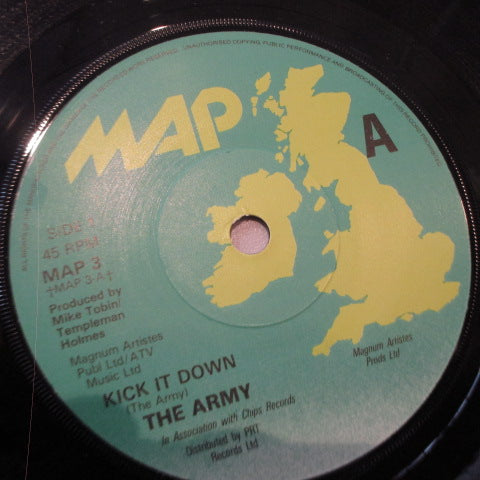 "ARMY, THE - Kick It Down! (UK Orig.7"")"