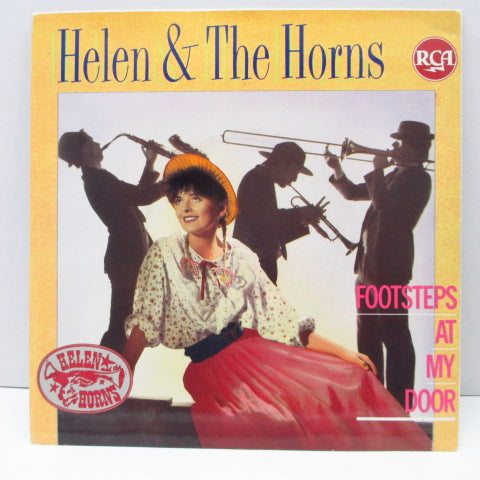 HELEN AND THE HORNS - Footsteps At My Door (UK Orig.)