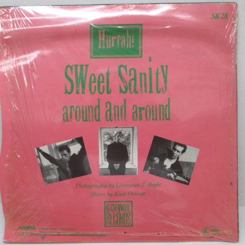"HURRAH! - Sweet Sanity (UK Ltd.7""+Poster Booklet/Stickered PS)"