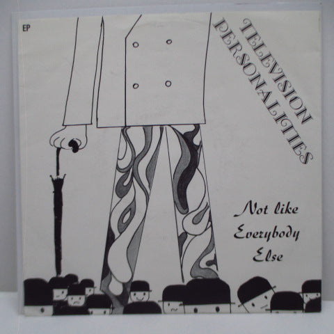 "TELEVISION PERSONALITIES - Not Like Everybody Else (German Orig.7"")"