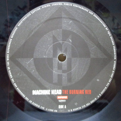 MACHINE HEAD-The Burning Red (US Orig.LP)
