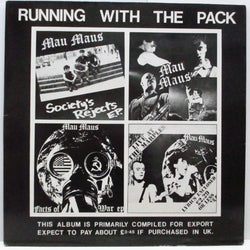 MAU MAUS - Running With The Pack (UK Orig.LP/GS)