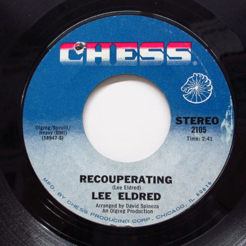LEE ELDRED - Recouperating / Leave Me Your Love