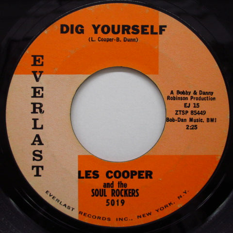 LES COOPER & THE SOUL ROCKERS - Dig Yourself / Wiggle Wobble (Orig)