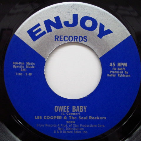 LES COOPER & THE SOUL ROCKERS - Owee Baby / Let's Do The Boston Monkey