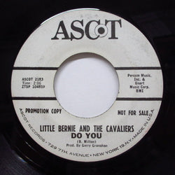 LITTLE BERNIE & THE CAVALIERS - Do You / Poor Town (Promo)