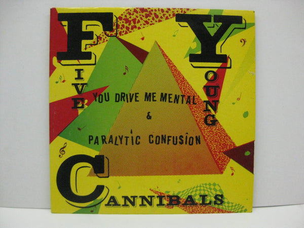 "CANNIBALS (FIVE YOUNG CANNNIBALS) - You Drive Me Mental (UK Ltd.Purple Vinyl 7""+PS)"