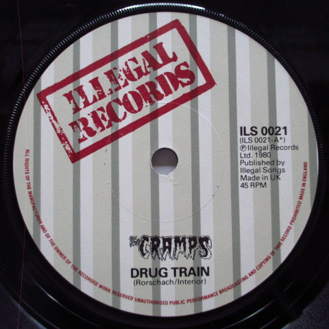 "CRAMPS - Drug Train (UK Orig.7"")"
