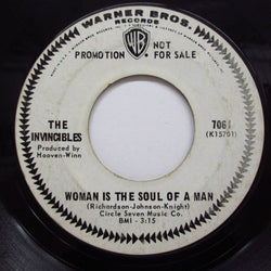 INVINCIBLES - Woman Is The Soul Of A Man (Promo)