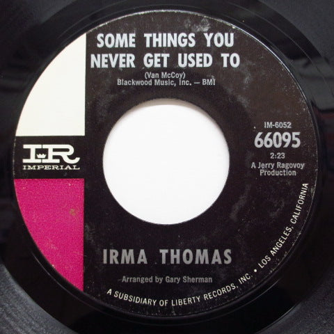 IRMA THOMAS - Some Things You Never Get Used To