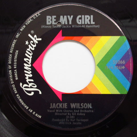 JACKIE WILSON - Big Boss Line / Be My Girl