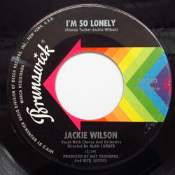 JACKIE WILSON - I'm So Lonely / No Pity