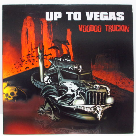 UP TO VEGAS - Voodoo Truckin (German Orig.LP)