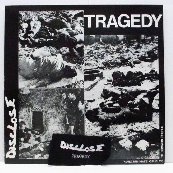 DISCLOSE - Tragedy (Japan Orig.LP+Patch)