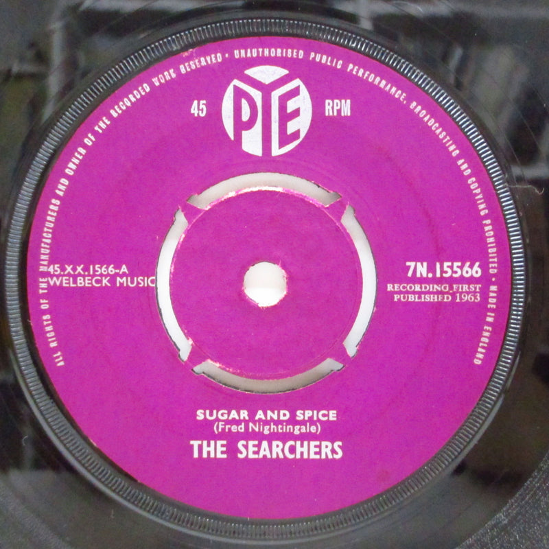 "SEARCHERS (サーチャーズ)  - Sugar And Spice (UK Orig.Maroon Lbl.7""+CS)"