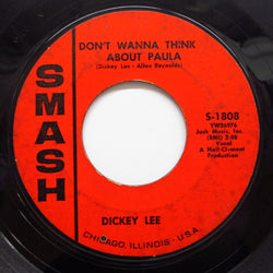DICKEY LEE - Don't Wanna Think About Paula